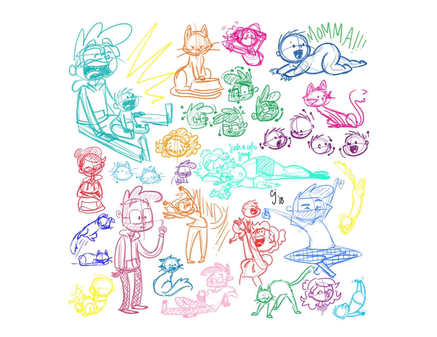 Jarney Sketches